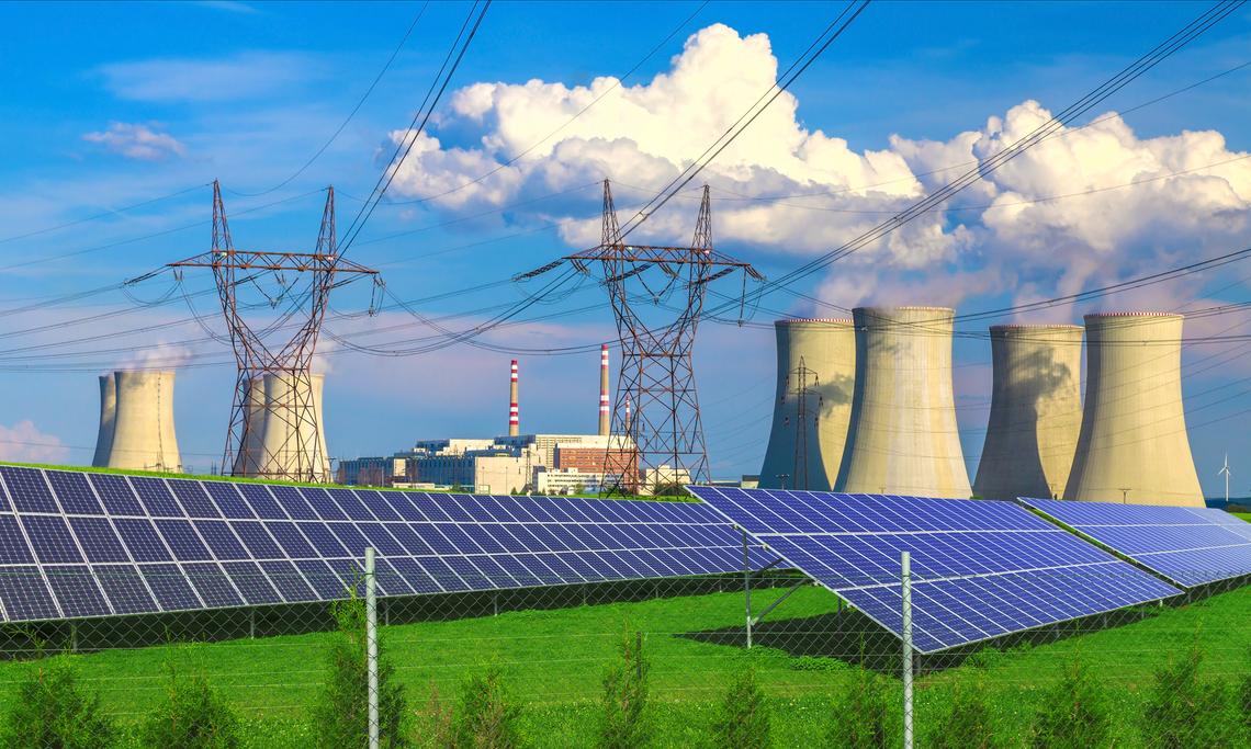 Energie výrobní podniky