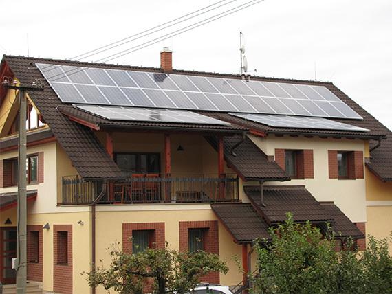 FVE Červený Kostelec 12 kWp